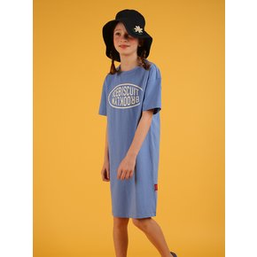 [SPECIAL SALE] Icebiscuit classic logo short sleeve dress