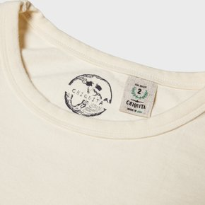 C19SS Cotton Pocket T U Ivory