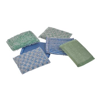 GLITTER SPONGE SET OF 3 GREEN