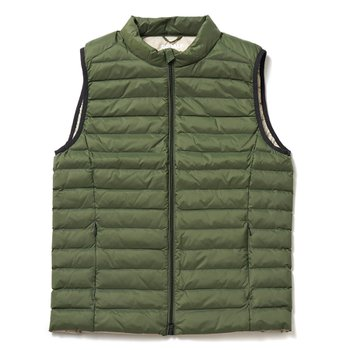 CARDIFF DOWN VEST GREEN