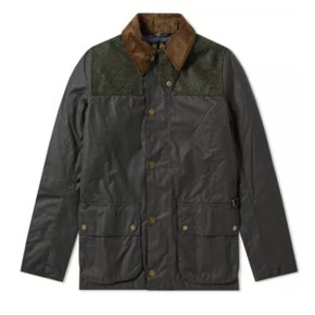 BARBOUR Wight Wax Jacket SAGE MWX1397SG51