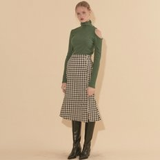 [20%할인가][살롱드욘]Mermaid Skirt_ Gingham Check