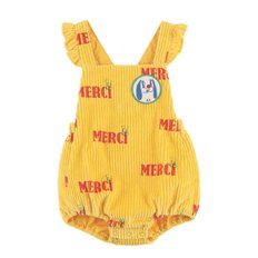 Multi merci baby ruffle playsuit