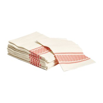 헤이 Biodegradable napkins set of 20 Red