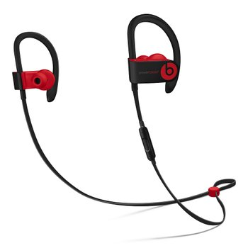 Beats Powerbeats3 Wireless 이어폰 - Beats Decade Collection - 도전적인 블랙-레드(MRQ92PA/A)