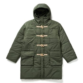 PADDED DUFFLE COAT 카키