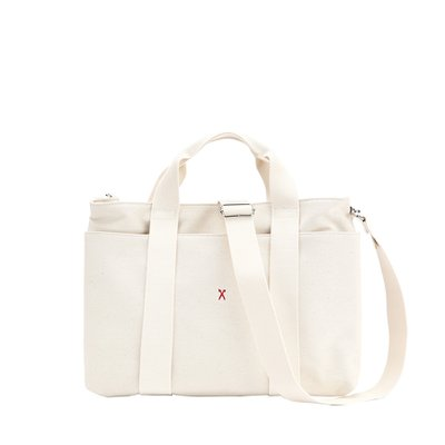 [조셉앤스테이시] Stacey Daytrip Tote Canvas M Ivory