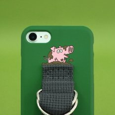 SUN CASE MEDIUM GREEN DEEP GRAY(WORD)