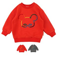 Basic baby rainbowpino sweatshirt / BP7324191
