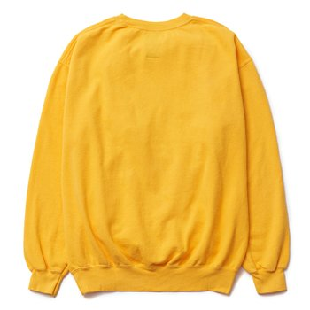 와일드동키 F-UCLA SWEAT SHIRT YELLOW