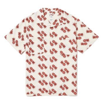MIAMI CAMP SHIRTS (PINEAPPLE) WHITE