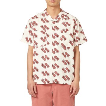 이스트하버서플러스 MIAMI CAMP SHIRTS (PINEAPPLE) WHITE