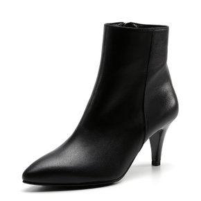 LAF015 ANKLE BOOTS BLACK
