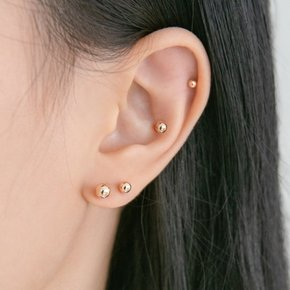 14k gold ball piercing (14K 골드)