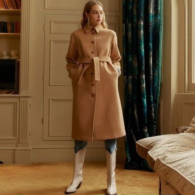 [레이브]Single Maxi Coat in Beige_VW9WH0540