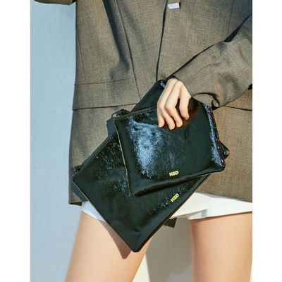 [헤지스ACC] HSD [19SS] NEON POINT BLACK CLUTCH HABA9E503BK