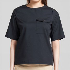 EYELET BLOUSE BLACK235 (3516680)