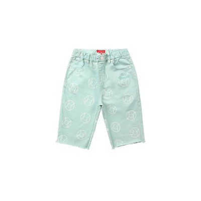 [SPECIAL SALE] Multi tennis smile cut-off shorts