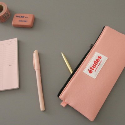 etudes FLAT PENCIL POUCH-세컨드맨션