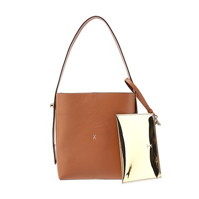 [조셉앤스테이시] Joseph Shopper S Pecan Brown(+Pouch)
