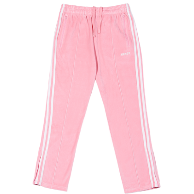 Velour Track Pants Pink