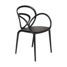 Loop Chair Black Set (2개)