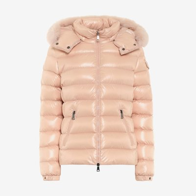 MONCLER 몽클레어 BODYFUR DOWN JACKET PINK 4631425C0061 53E