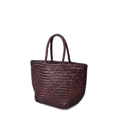 [드래곤백]GRACE BASKET SMALL_DARK BROWN