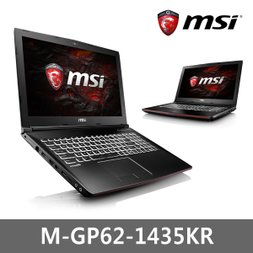 MSI 노트북 GP62-7RE-1435KR/i7-7700/win10/128GB SSD/8GB
