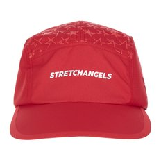 Star pattern camp cap (Red)(SXCP05841)