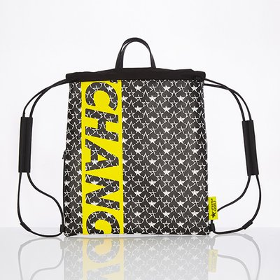 스트레치엔젤스[S.C.F] String easy backpack (Black)