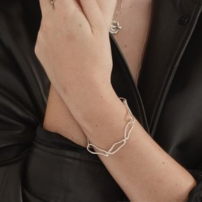 Chain connect Bracelet (Silver, Gold)