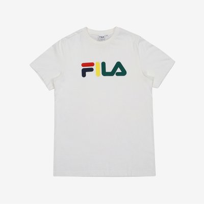 [FILA] 온라인단독 MULTI-COLOR LOGO TEE (FE2RSB5104X_OWH)