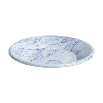 SOFT ICE LUNCH PLATE BLUE