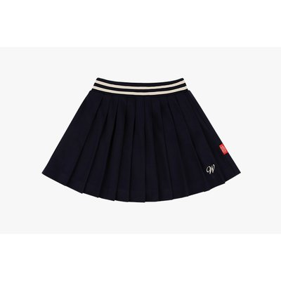 [10% SALE] Wendy pleated jersey mini skirt