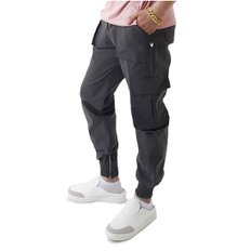 Easy Zip-up Cargo-Jogger Pants CHARCOAL (2757260)