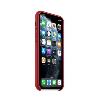 iPhone 11 Pro 가죽 케이스 - (PRODUCT)RED(MWYF2FE/A)
