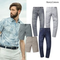 [Henry Cotton`s] SUMMER PANTS
