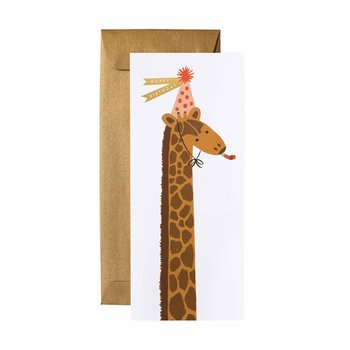 GIRAFFE BIRTHDAY NO.10 CARD