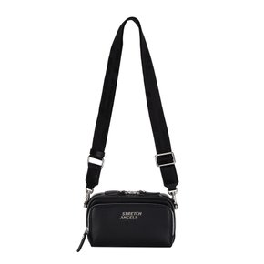 ◆SUMR10041◆ NEW Double Pocket mini Panini bag_BLACK