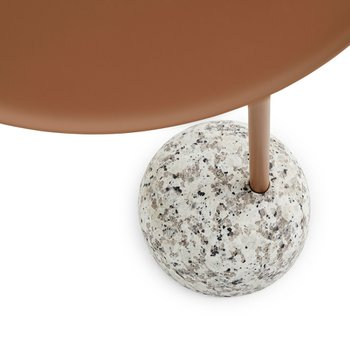 Bowler Table Pale brown