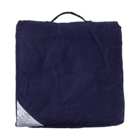 BLOCK CUSHION Navy Blue