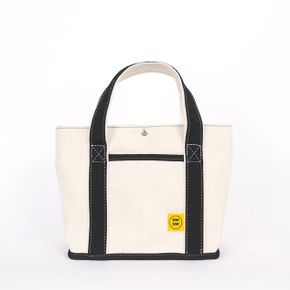 CHOU CHOU TOTE BAG Ecur-black 슈슈 토트 백
