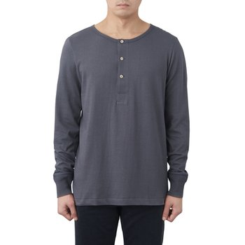 206 HENLEY LONG SLEEVE STONE