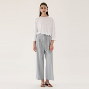 [15%할인가][블랭크공삼]linen wide pants (sky blue)