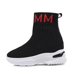 kami et muse Color lettering scoks fit sneakers_KM19w068