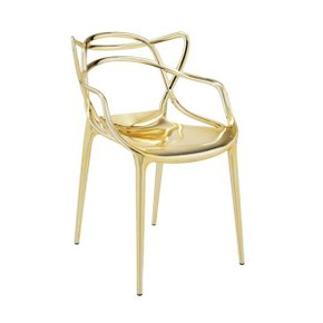 Masters chair Metallic
