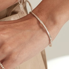 Honesty Bangle (Silver, Gold)