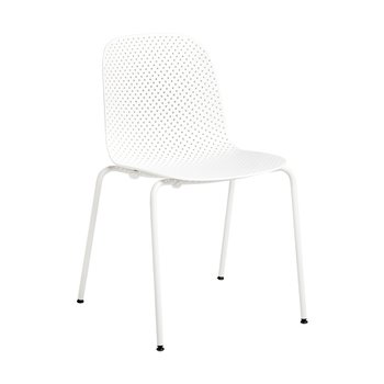 13EIGHTY CHAIR CHALK WHITE/GREY WHITE