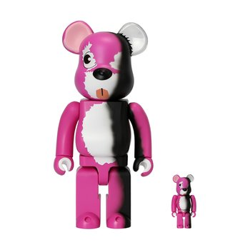 400%+100% BEARBRICK PINK BEAR